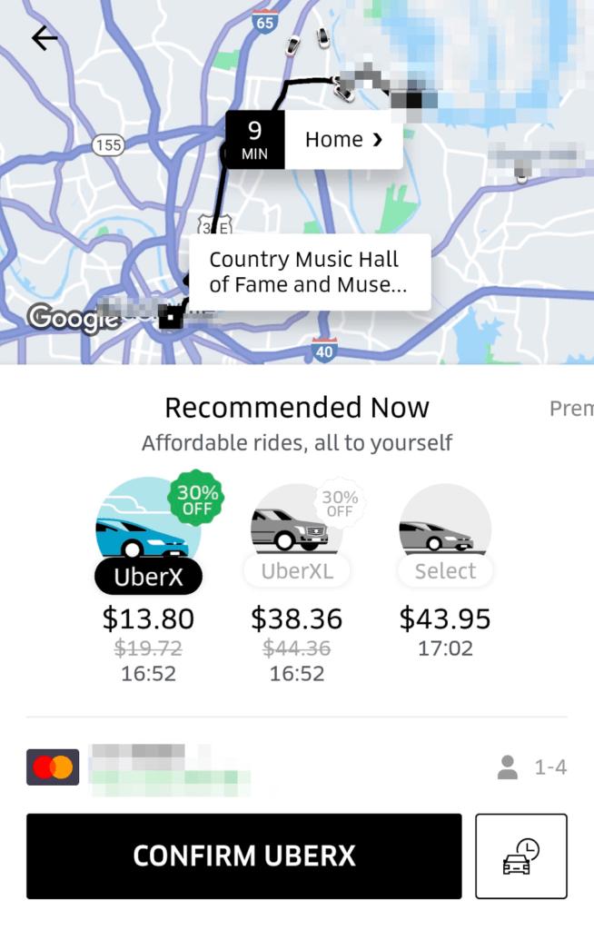 uber cash not working