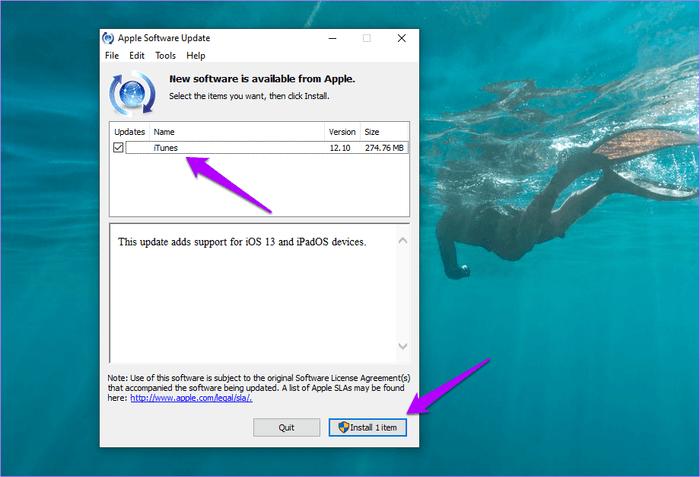 how to update itunes mac